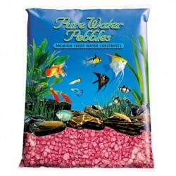Pure Water Pebbles Aquarium Gravel - Red Frost Image