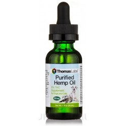 Thomas Labs Purified Hemp Oil Dogs and Cats 250 mg Image