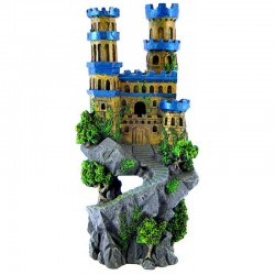 Blue Ribbon Medieval Castle Aquarium Ornament Image