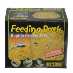 Exo-Terra Feeding Rock Reptile Cricket Feeder Image