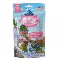 Blue Buffalo Kitty Cravings Crunchy Cat Treats Real Salmon Image