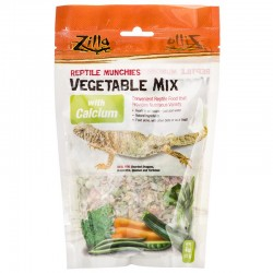 Zilla Reptile Munchies - Vegetable Mix with Calcium Image