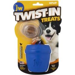 JW Pet Twist-in Treats Treat Dispensing Dog Toy  Image