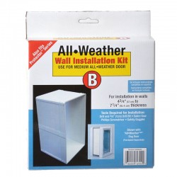 Perfect Pet All Weather Wall Installation Kit Image