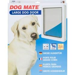 Dog Mate Dog Door - White Image
