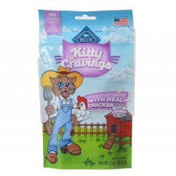 Blue Buffalo Kitty Cravings Crunchy Cat Treats Real Chicken Image