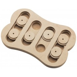 Spot Seek-A-Treat Shuffle Bone Interactive Dog Treat and Toy Puzzle Image