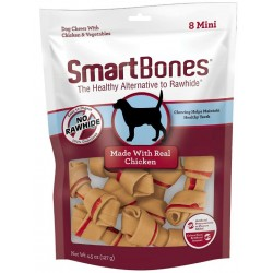 SmartBones Mini Vegetable and ChickenBones Rawhide Free Dog Chew Image