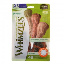 Whimzees Brushzees Dental Treats - X-Small Image