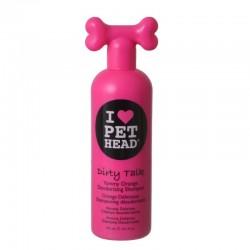 Pet Head Dirty Talk Deodorizing Shampoo - Yummy Orange Image