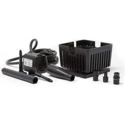 Beckett Submersible Pump and Container Kit for Mini Fountains and Bird Baths Black Image