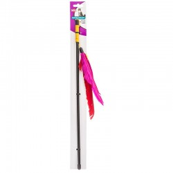 Spot Feather Dangler Cat Toy Image