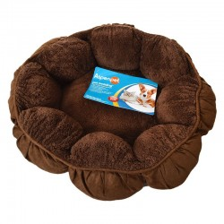 Aspen Pet Puffy Round Cat Bed Image