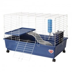 Kaytee My First Home Deluxe Guinea Pig 2-Level Cage with Wheels Image