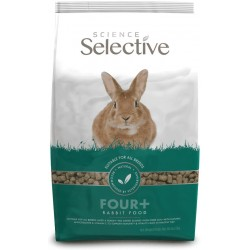 Supreme Science Selective Four+ Rabbit Food Image