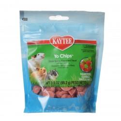 Kaytee Fiesta Yogurt Chips for Small Animals - Strawberry Image