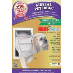 Ideal Pet Products Air Seal Plastic Pet Door with Telescoping Frame Image