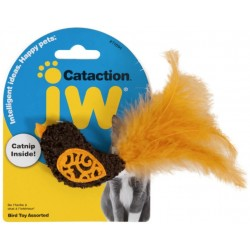 JW Pet Cataction Catnip Bird Cat Toy With Feather Tail  Image