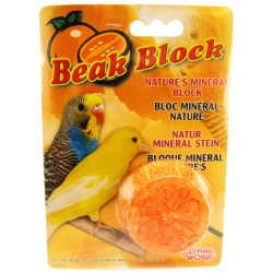 Living World Beak Block with Minerals - Orange Image