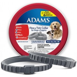Adams Flea & Tick Collar for Dogs & Puppies Image