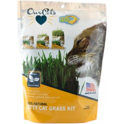 OurPets Cosmic Catnip 100% Natural Kitty Cat Grass Kit Image
