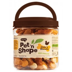 Pet 'n Shape Chik 'n Biscuits Dog Treats Image