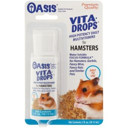 Oasis Vita-Drops High Potency Hamster Daily Multivitamins Image