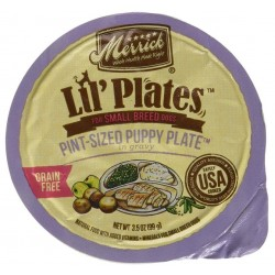 Merrick Lil' Plates Grain Free Pint-Sized Puppy Plate Image