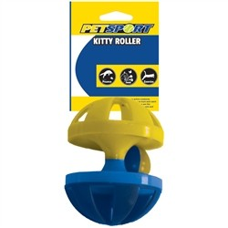 Petsport Kitty Roller Cat Toy - (Assorted Colors) Image
