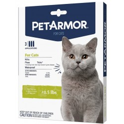 PetArmor Flea and Tick Treatment for Cats (Over 1.5 Pounds) Image