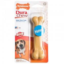 Nylabone Dura Chew Bone - Peanut Butter Flavor Image