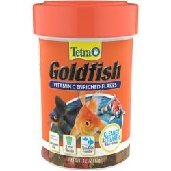 Tetra Goldfish Vitamin C Enriched Flakes Image