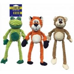 Petsport Critter Tug Dog Toy - (Assorted Styles) Image