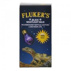 Flukers Black Nightlight Bulb Incandescent Reptile Light Image