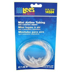 Mini Airline Tubing with 4 Connectors Image