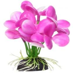 Marina Betta Pink Orchid Aquarium Plastic Plant Image