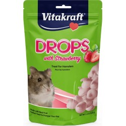 Vitakraft Drops with Strawberry for Hamsters Image