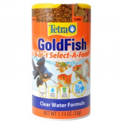 Tetra Goldfish 3 in 1 Select a Food Image