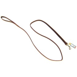 Circle T Latigo Leather Lead - 6' Image