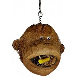 AE Cage Company Happy Beaks Coco Monkey Head for Birds Image