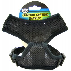 Four Paws Comfort Control Harness - Black Image