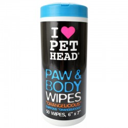 Pet Head Paw and Body Wipes - Orangelicious Image