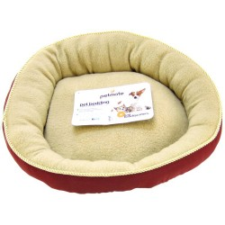 Petmate Round Pet Bed with Elliptical Bolster Image