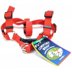 Coastal Pet Comfort Wrap Adjustable Harness - Red Image