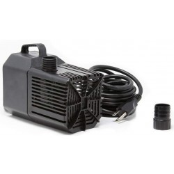 Beckett Spaces Places Submersible Auto Shut Off Pond or Waterfall Pump Black Image
