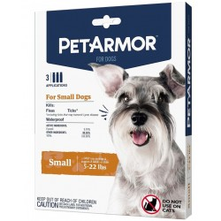 PetArmor Flea and Tick Treatment for Small Dogs (5-22 Pounds) Image