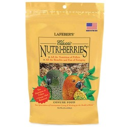 Lafeber Classic Nutri-Berries - Conure Food Image
