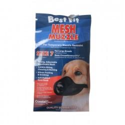 Coastal Pet Best Fit Mesh Muzzle - Black Image