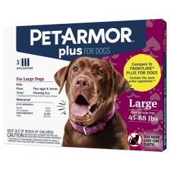 PetArmor Plus Flea and Tick Treatment for Large Dogs (45-88 Pounds) Image