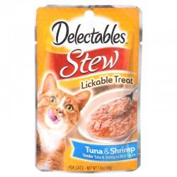 Hartz Delectables Stew Lickable Treat for Cats - Tuna & Shrimp Image